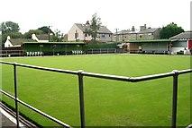 SE1614 : Almondbury Bowling Club - Cemetery Walk by Betty Longbottom
