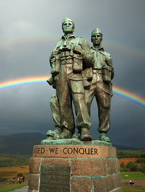 Rainbow Warriors - Commando Memorial, Spean Bridge
