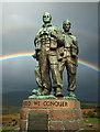 NN2082 : Rainbow Warriors - Commando Memorial, Spean Bridge by Mike Searle