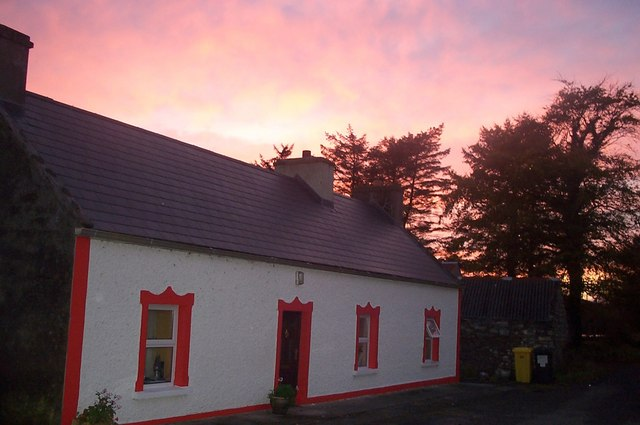 Sunset over Shannagh