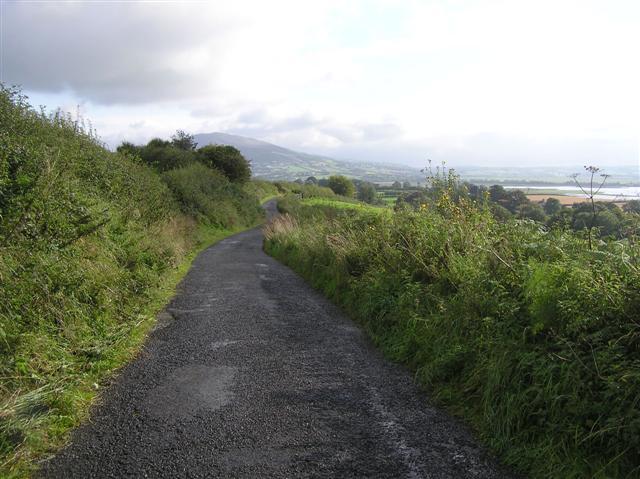 Road near Corcannon
