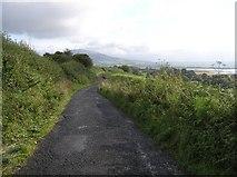 C3322 : Road near Corcannon by Kenneth  Allen