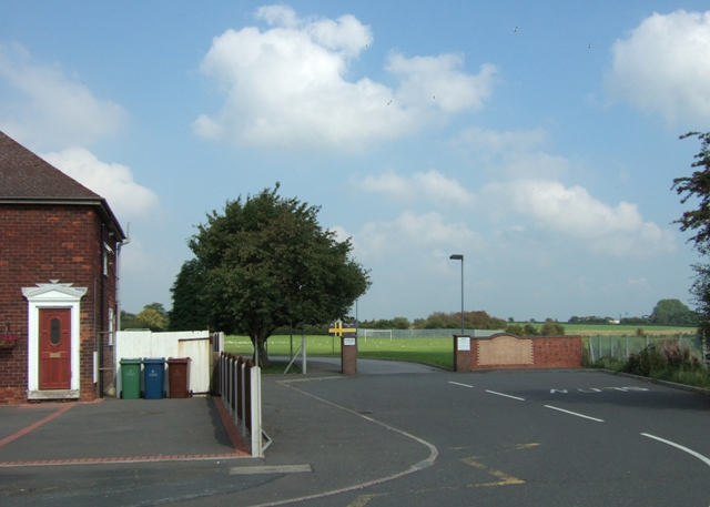 Entrance to Sir Graham Balfour High School