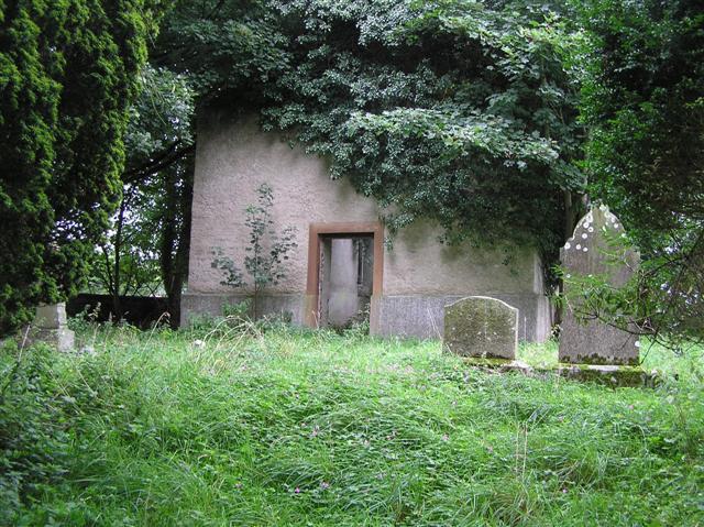 Derelict church, Inch Island