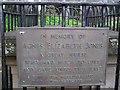 C3426 : Agnes Elizabeth Jones plaque by Kenneth  Allen