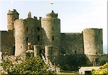 SH5831 : Harlech Castle by Andrew Wood