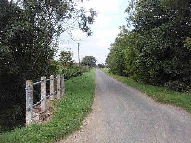 Meadow Road by Werrington Drain Bridge