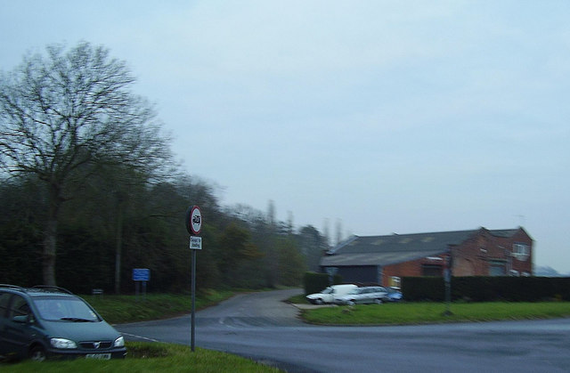 Former Homersfield goods shed and station site