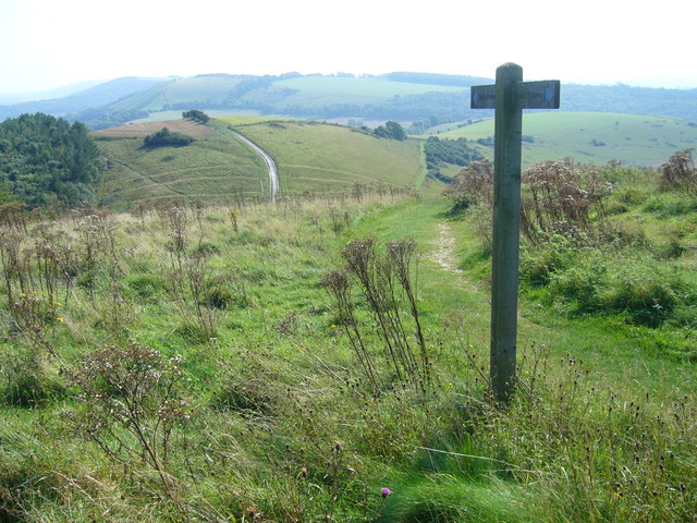 Bridleway over Beacon Hill