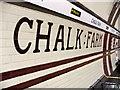 TQ2884 : Chalk Farm Station, London NW3 by Christine Matthews