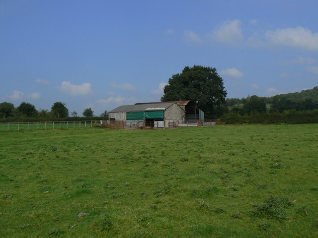 Farm buildings near Kemeys Commander