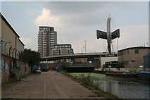TQ3783 : Lee Navigation:  Bow Bridge by Dr Neil Clifton