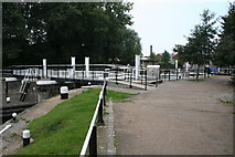 TQ3783 : Lee Navigation:  Old Ford Locks by Dr Neil Clifton