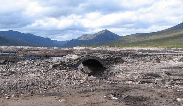 "The ""Road to the Isles"" - Loch Loyne - smaller bridge"