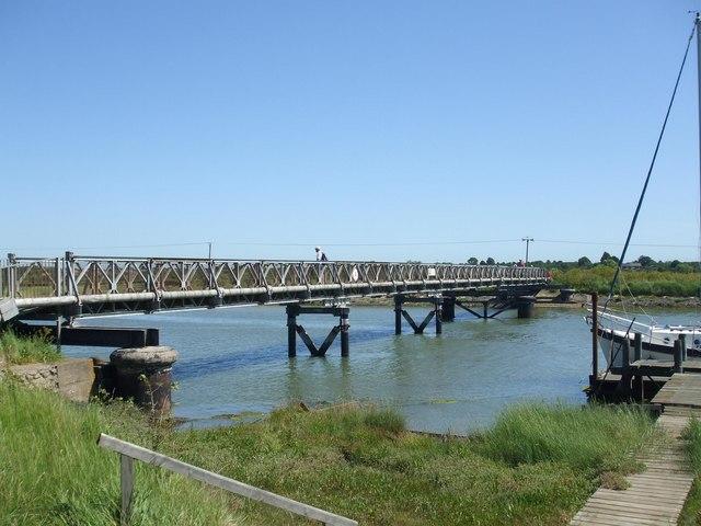 Southwold to Walberswick Bridge