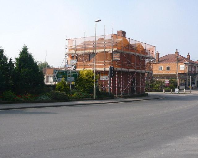 Demolition of former coalyard offices