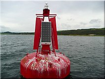 NR9967 : Carry Point port-hand buoy by Gordon Brown