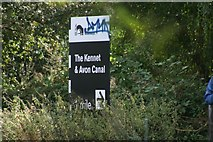 SU7373 : Signboard at the junction of the Thames with the Kennet and Avon Canal by Barry Cornelius