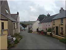 SM8432 : Trefin, Pembrokeshire by Deborah Tilley