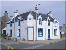 HU4039 : Junction of Kirk Park and Main Street by Nick Mutton