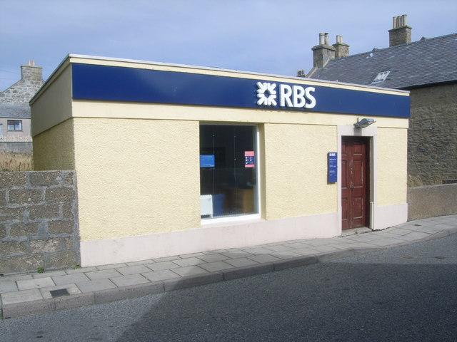 Royal Bank of Scotland, Scalloway Branch