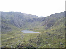 SH6459 : Llyn Idwal and the Devil's Kitchen by Ian Greig