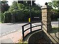 TQ4277 : Historic pillar, Repository Road by Stephen Craven