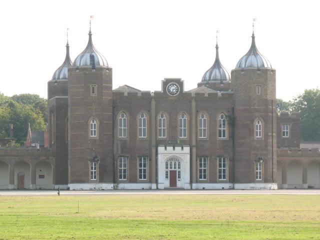 Former Royal Military Academy - entrance