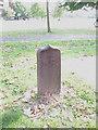 TQ4377 : War Department marker, Ha-Ha Road by Stephen Craven