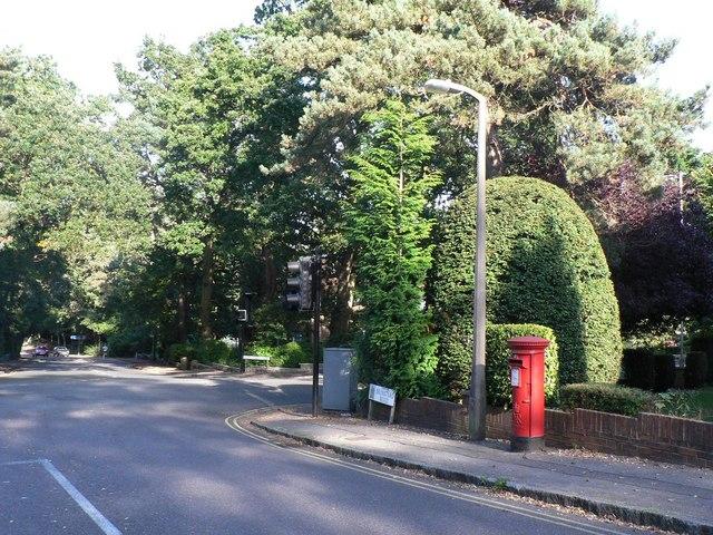 Branksome: postbox № BH12 240, Brunstead Road