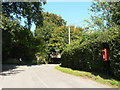 ST8906 : Langton Long Blandford: postbox № DT11 25 by Chris Downer