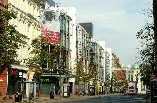 The Castle Court shopping centre, Belfast