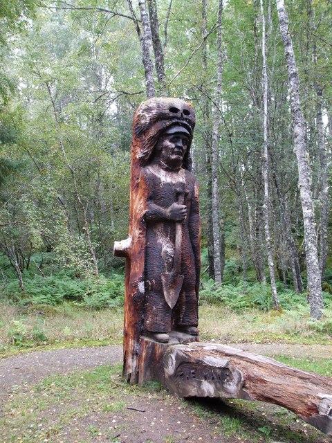 Frank Bruce Sculpture Trail, Feshie Bridge