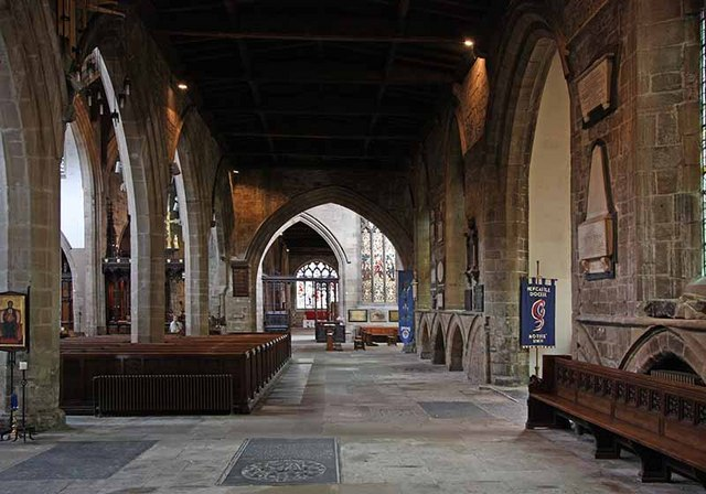 St Nicholas Cathedral, Newcastle - South aisle