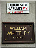 TQ2580 : Whiteley's, Bayswater by Stephen McKay