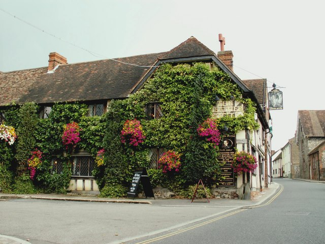 'The Leather Bottle' inn at Cobham