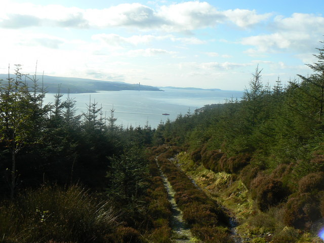 Track above Blairmore - Strone Golf Course