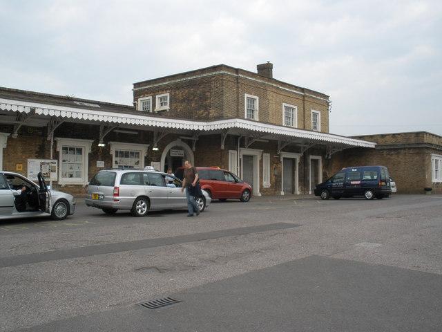Station forecourt, Taunton