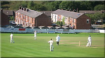 SD9321 : Walsden Cricket and Bowling Club by Paul Anderson