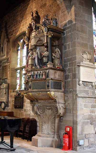 St Nicholas Cathedral, Newcastle - Monument
