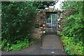 NZ0384 : Gate to the Walled Garden, Wallington by David Lally