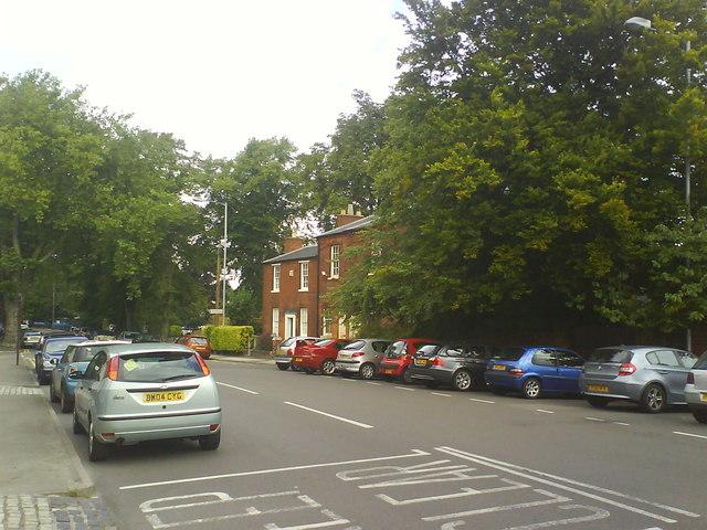 Birmingham Road near Six Ways