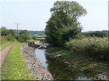 SO8685 : Stourbridge Canal drained near Stourton by Roger  Kidd