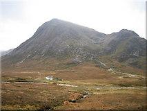 NN2256 : Buachaille Etive Mor from Altnafeadh by Dannie Calder