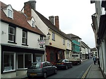 TL3540 : Kneesworth Street by Jo Edkins
