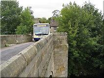 SK2572 : Leaving Bubnell on a Hulleys Bus by Alan Heardman