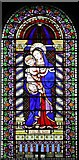 SE3766 : St Mary, Roecliffe, North Yorkshire - Window by John Salmon