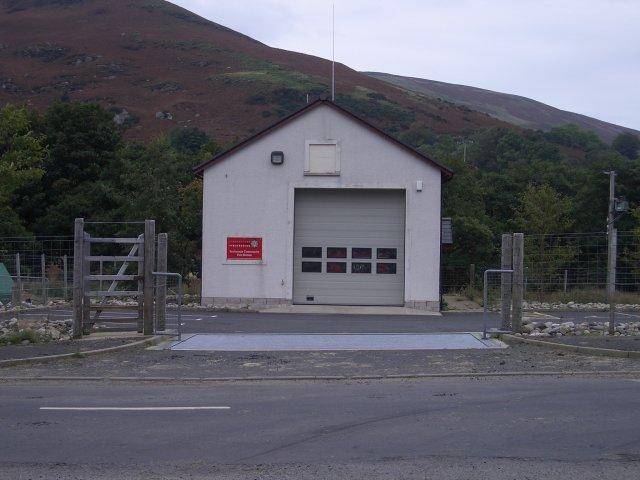 Fire station, Lochranza