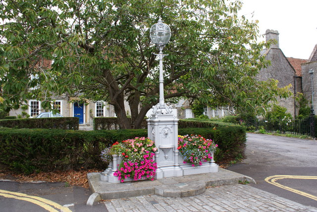 Drinking trough in Cow Square, Somerset