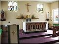 SD4262 : St Patrick's Catholic Church, Morecambe. Interior by Alexander P Kapp